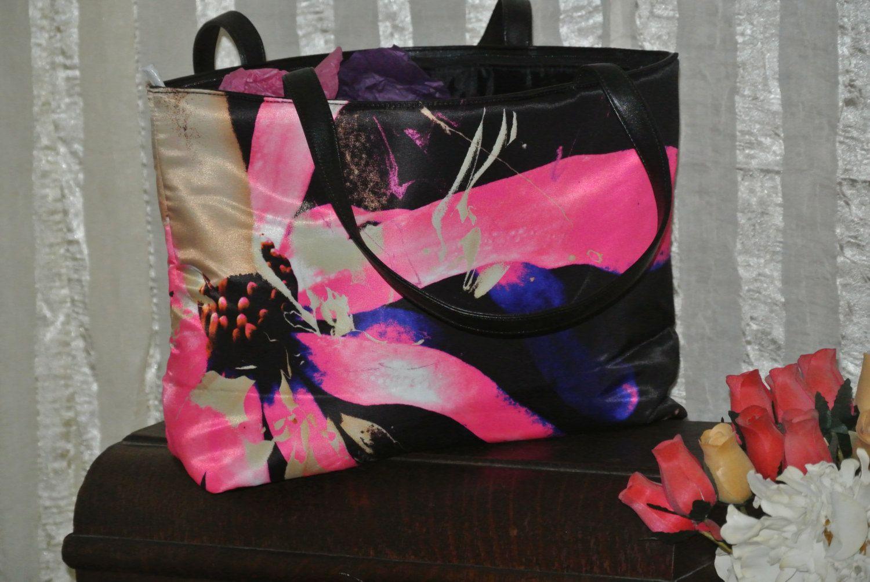 Floral Shoulder Bag. $21.99, via Etsy.