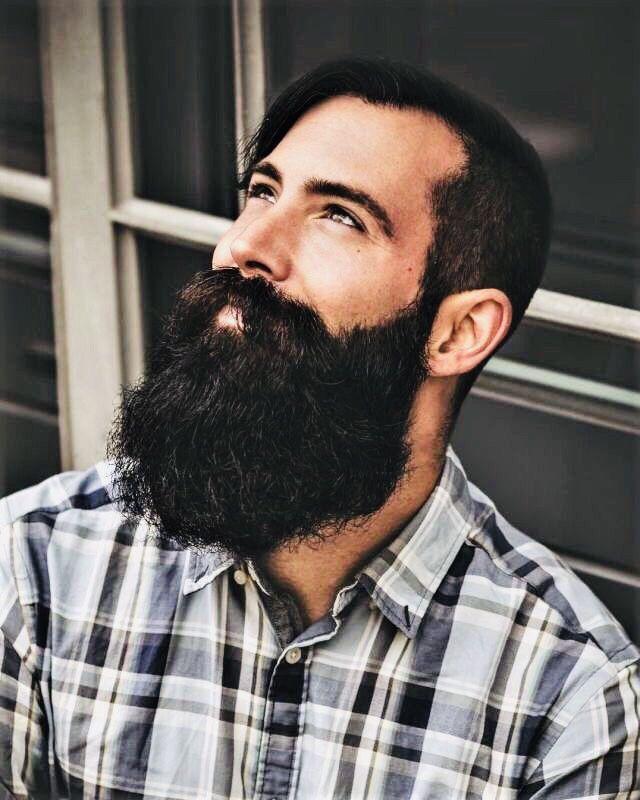 XXL Full Bearded Handsome 👀 Hipster Woof! Hybrid 😜 #beardedmen #woof #ruggedstyle #rugged