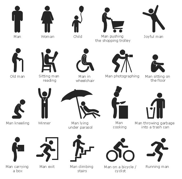 Design Elements People Pictograms Pictogram Pictogram Design Stairs Icon
