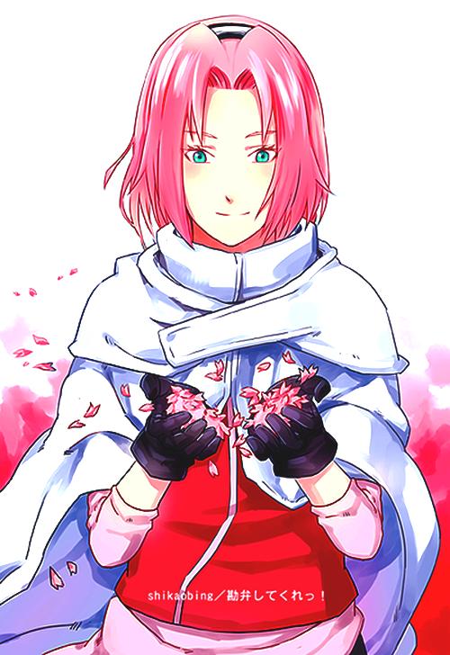 Sakura Haruno Manga anime, Sasuke, Sakura