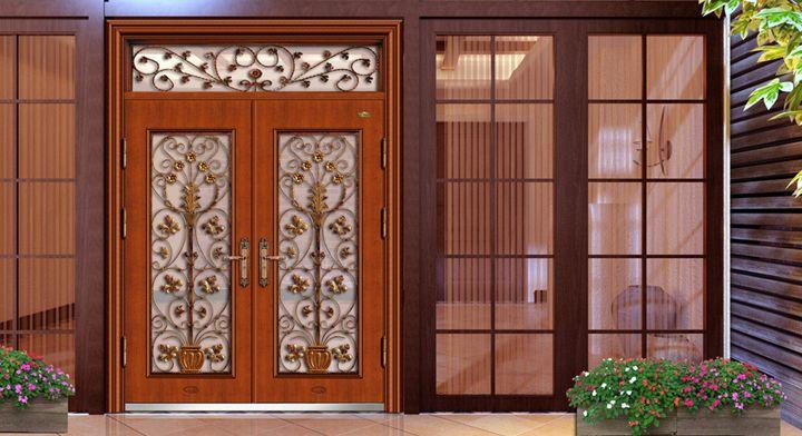 Consejos para limpiar las puertas de madera puertas de for Puertas de madera y cristal exterior