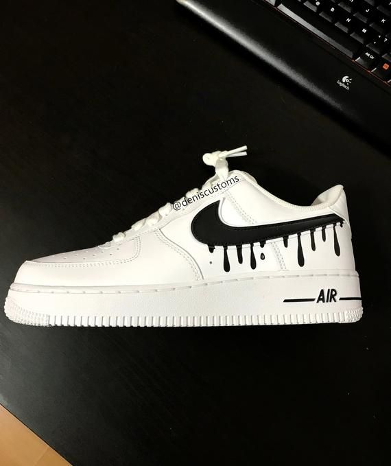 Nike Air Force 1 Low with Candy Drip Design | Nike schoenen