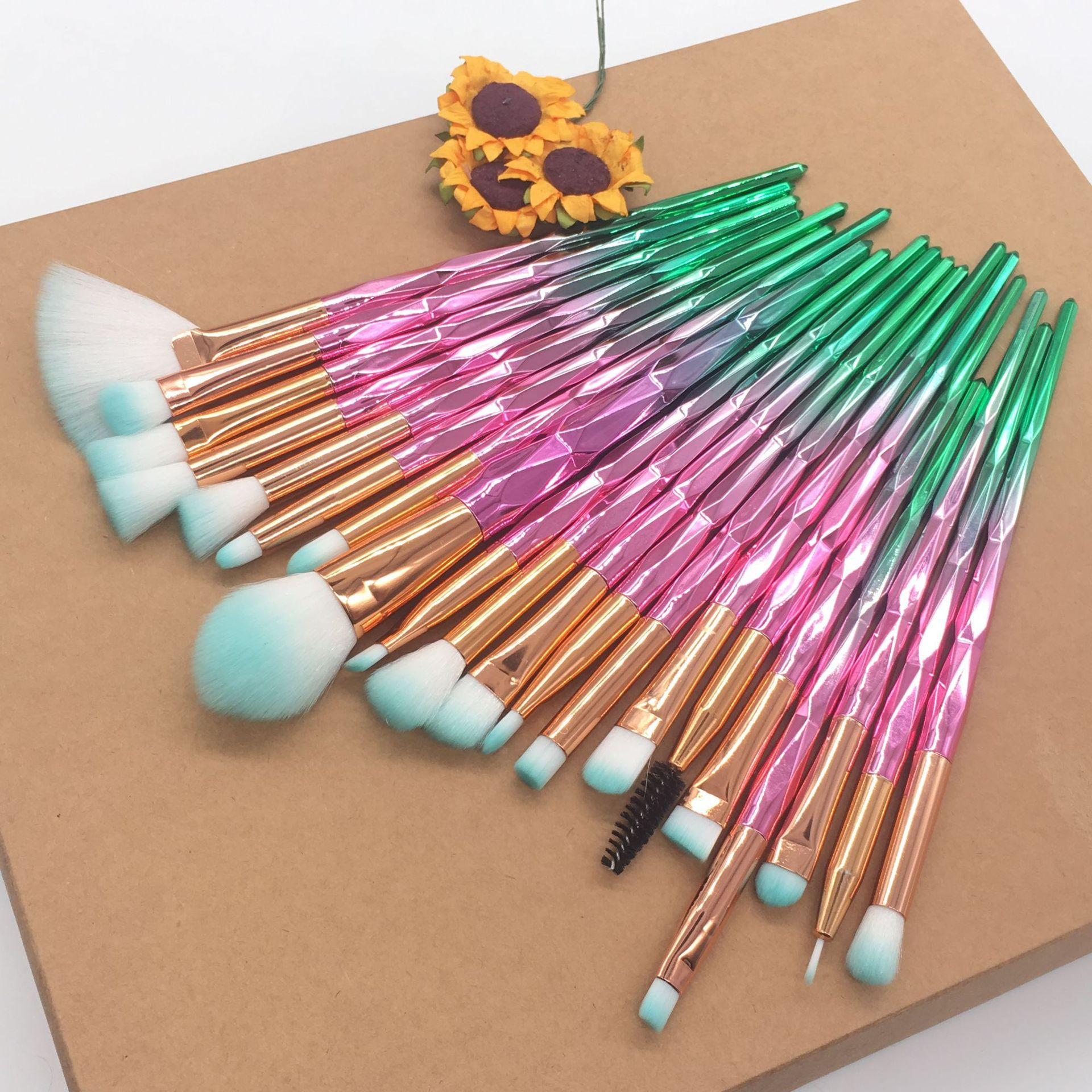 Professional 20pcs eye makeup brushes set available