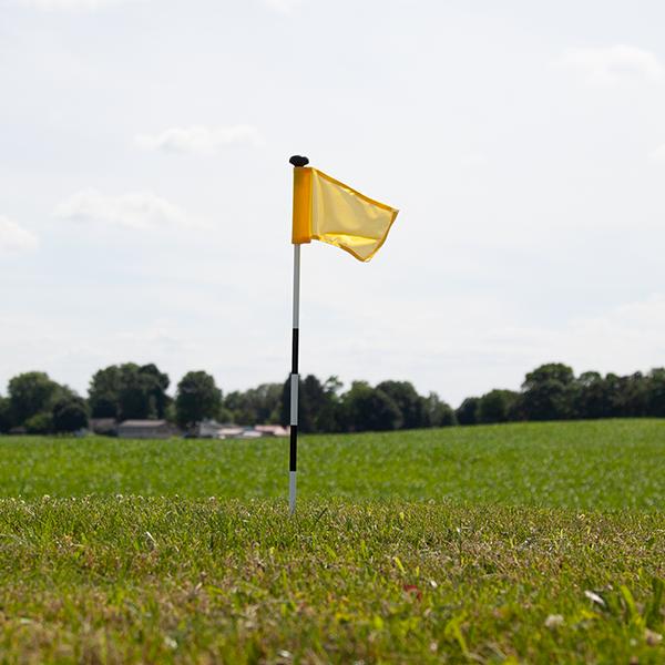 Solid Color Golf Flag Vispronet Dye Polyester Fabric Solid Color Color
