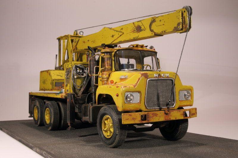 mack dm600 crane truck 125 mpc page 2 under glass big