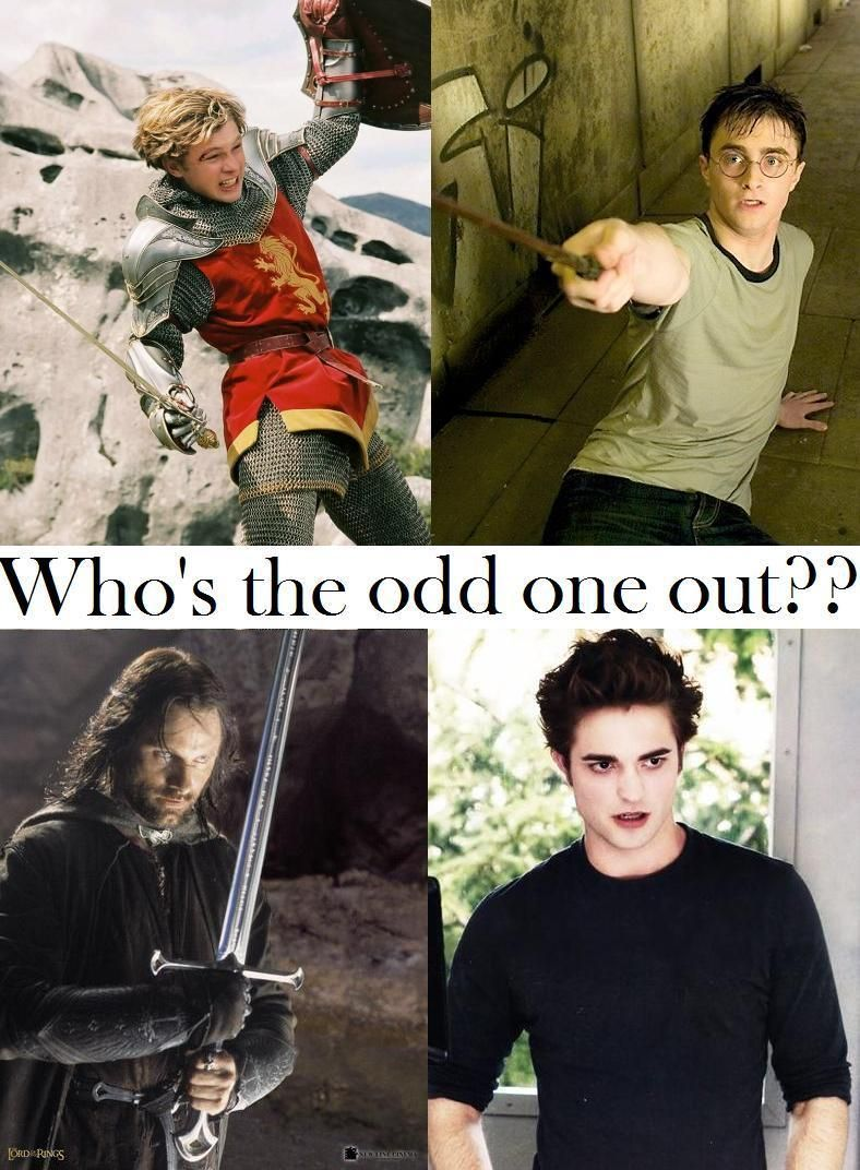 Odd One Out Harry Potter Vs Twilight Harry Potter Twilight Photos