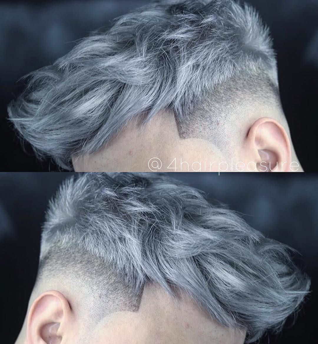 Do You Like This Hair Color Follow 4hairpleasure By Spukthebarber 4hairpleasure Men Hair Color Grey Hair Color Men Dyed Hair Men
