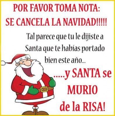 Frases de navidad graciosas navidad pinterest - Frases de navidad graciosas ...