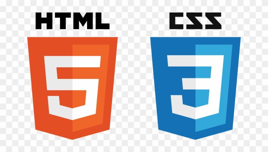 Download Hd Html Css Logo Png Clipart And Use The Free Clipart For Your Creative Project Html Css Css Clip Art