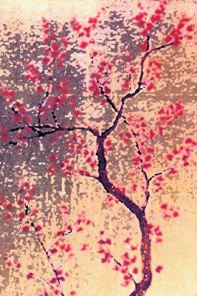 Newspaper Decoupage Art | Sakura | Pinterest | Japanese ...
