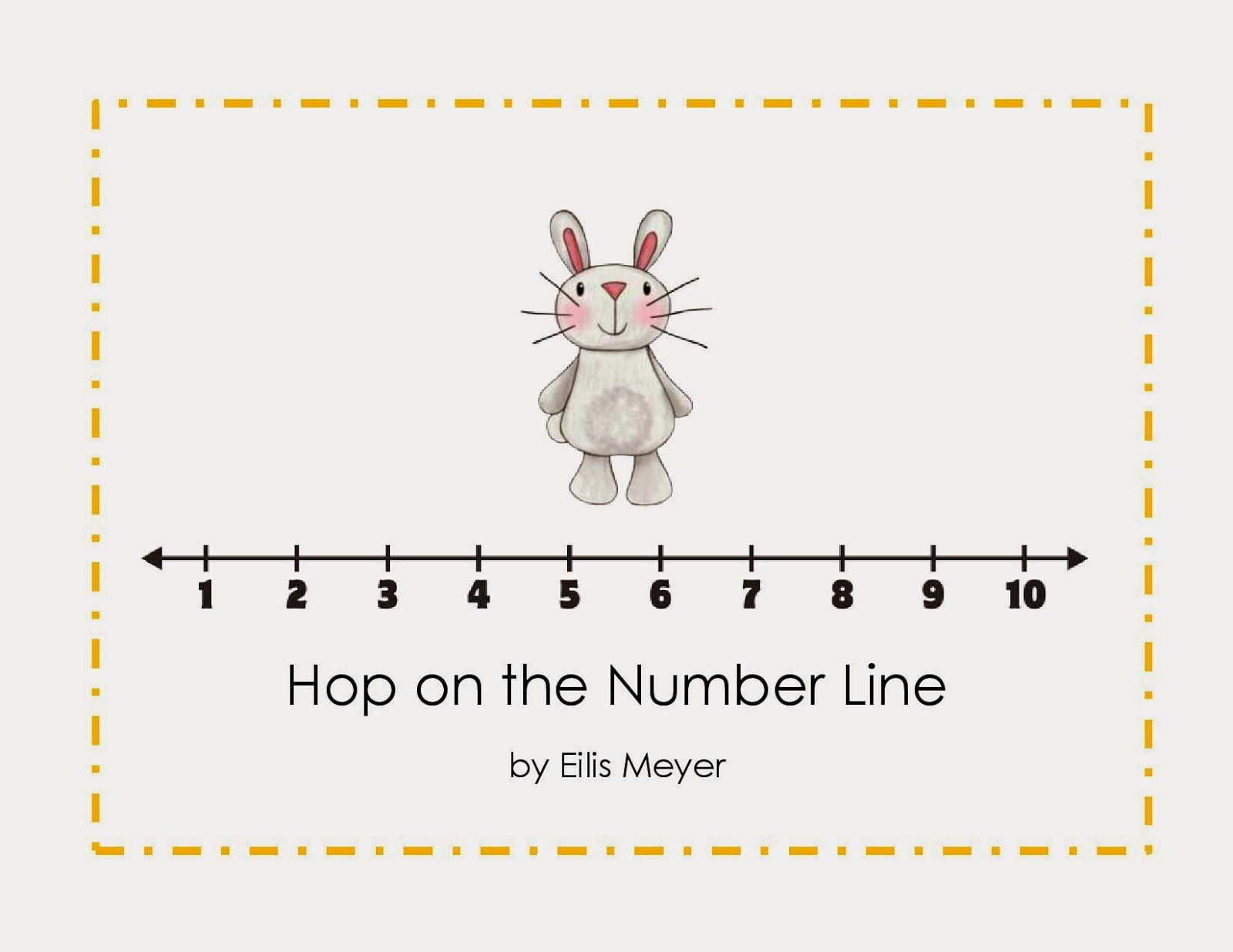 Growinginpre K And K Addition And Subtraction On A Number Line