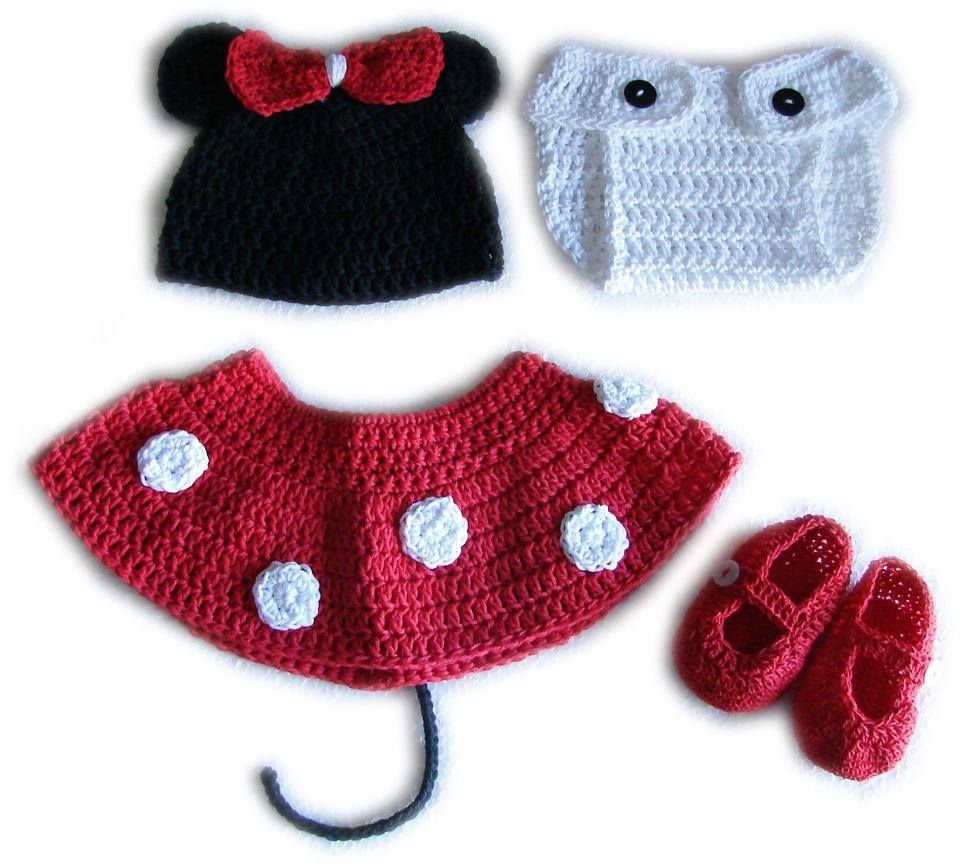 disfraz bebe y recin nacidos crochet tejidos de punto