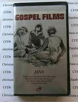 Jana Christian Movie Film Vhs Video Kathy Lee Johnson Gifford