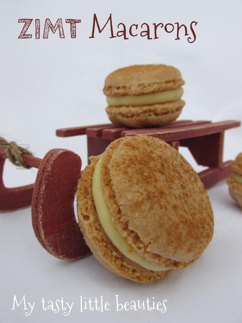 Photo of My tasty little beauties – Kuchen geht immer!: Zimt-Orangen-Macarons