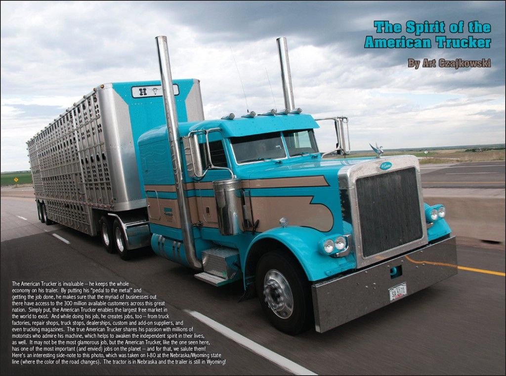 spirit of the american trucker | The Spirit Of The American Trucker April 2013