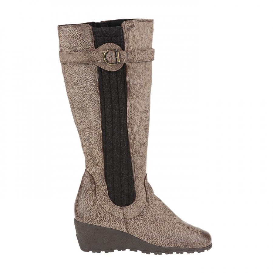 #Stiefel ischgl - super bequem dank Warmfutter und Strickeinsatz. Dadurch auf für kräftige Waden prima geeignet. Von #tessamino #winter