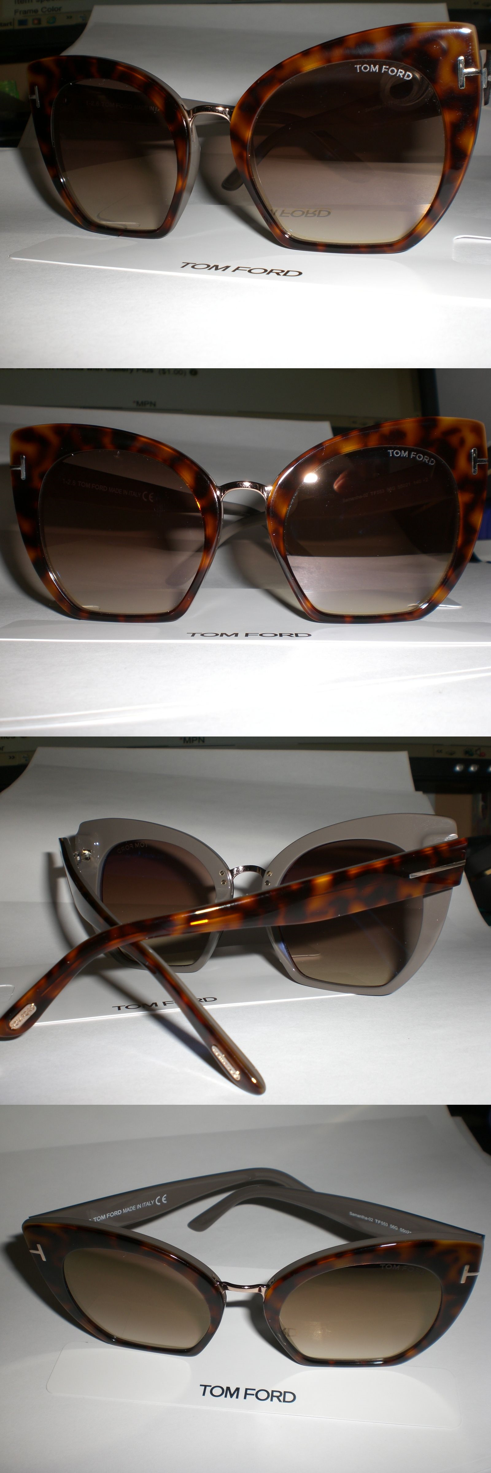 06536ba4c993a Fashion Eyewear Clear Glasses 179248  Tom Ford Samantha 02 Tf553 56G  Sunglasses