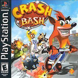 Crash Bash Sony Playstation 1 2000 Ps1 New Sealed Black Label Original Crash Bash Crash Team Racing Retro Gaming