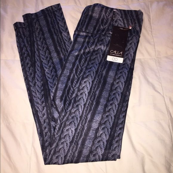 CALIA leggings CALIA by Carrie Underwood black and gray leggings. Size medium. Tight Fit. Brand new with tags. Never worn. CALIA by Carrie Underwood Pants Leggings
