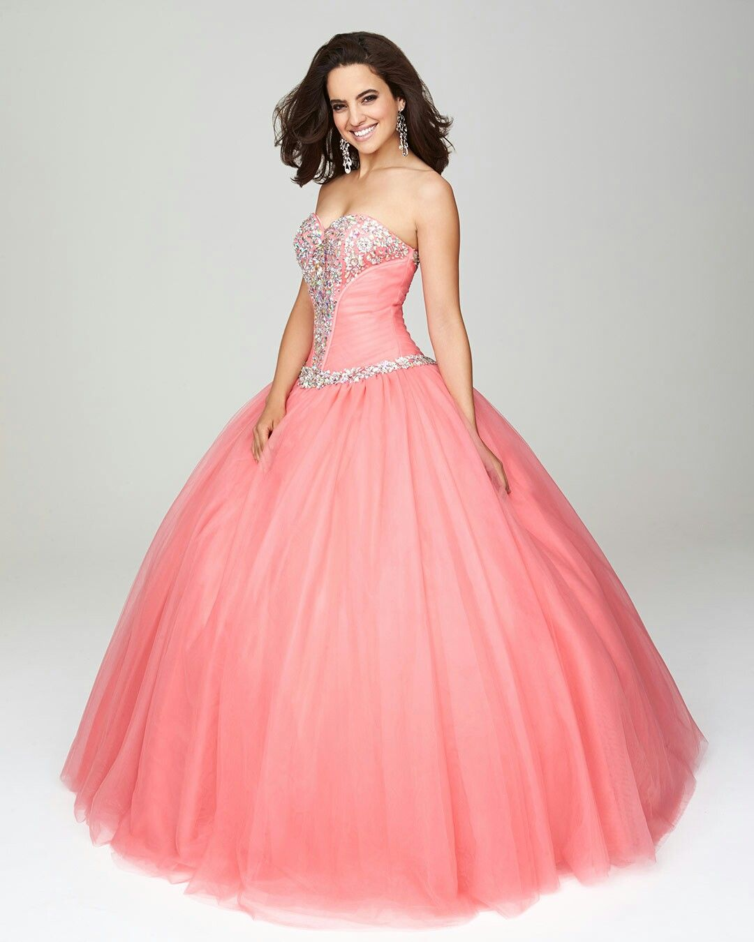 Color salmón | Salmon Color Dresses For Quinceaneras | Pinterest ...