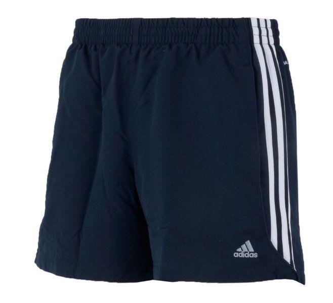 Adidas Mens Navy 3 Stripe ClimaLite Shorts - X-Small Amazon.co.uk ... f21c848504