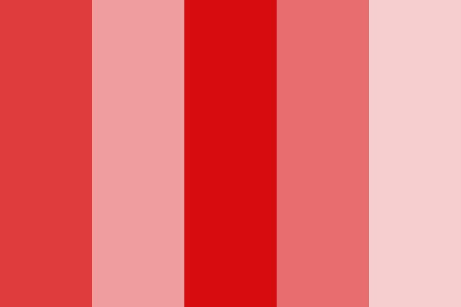 Dodie Red Color Palette in 2020 | Red colour palette ...