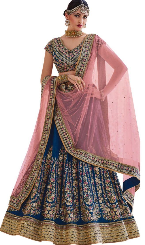 Pin by Nandini Sharma on wedding dress indian | Silk ...