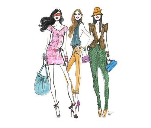 Shopping at Henri Bendel New York
