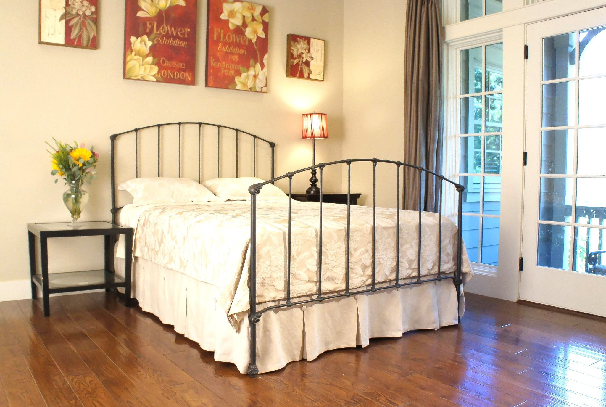 Archdale Iron Bed Bed, Metal beds, Panel bed