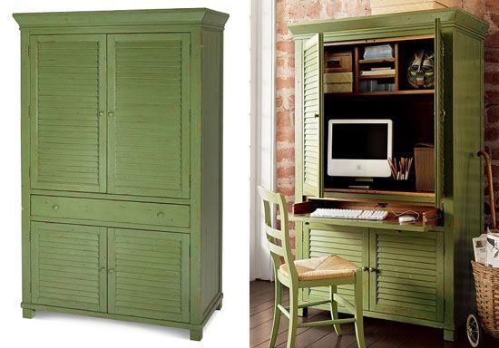 Best 25 Computer armoire ideas on Pinterest  Refurbished