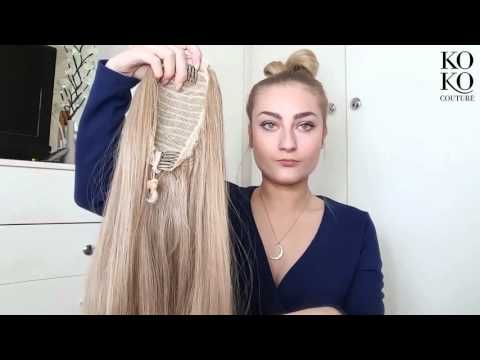 High Ponytail With Extensions On Short Fine Hair Irresistible Me Hair Extensions Youtube Ponytail Hairstyles Straight Ponytail Hair Extensions Tutorial