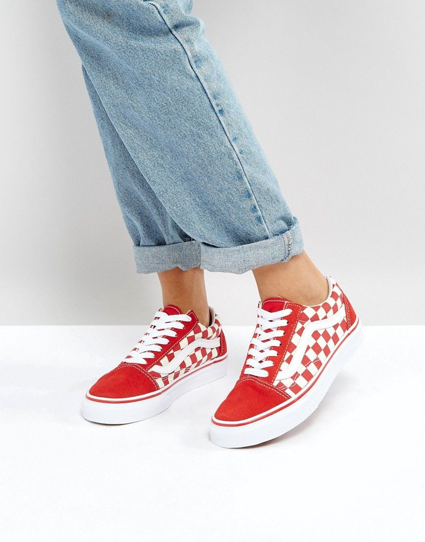 vans checkerboard old skool asos