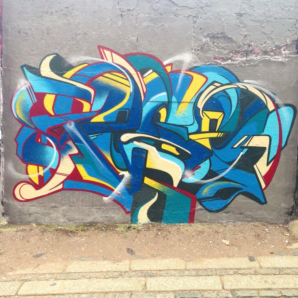 PESE today at the Zap Graffiti studio, Liverpool.