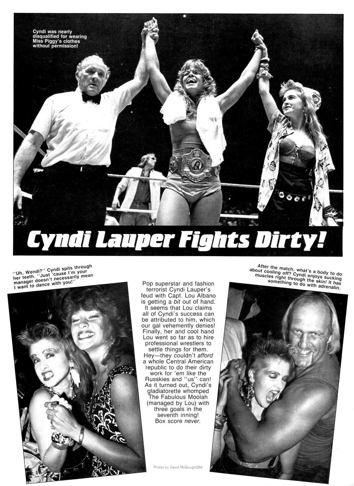 Cyn, Wendi Richter, Hulk Hogan