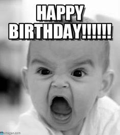 Memes Vault Happy Birthday Meme Funny Baby Verjaardagswensen Grappige Verjaardagswensen Vissen Humor