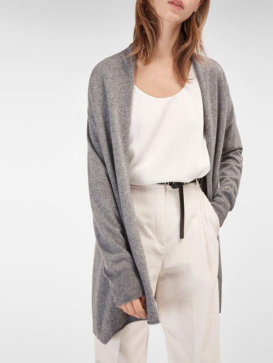 29e5528886f379 Basic - Cardigans auf Massimo Dutti für Herbst/Winter. Natürliche Eleganz!