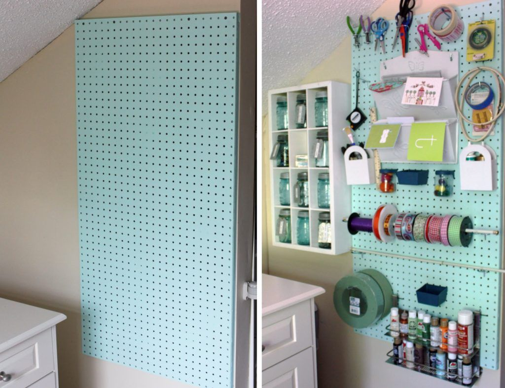 70 Resourceful Ways To Decorate With Pegboards And Other Similar ...