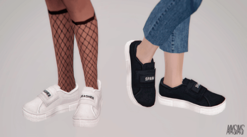 Palmer Sneakers for The Sims 4 by MMSims