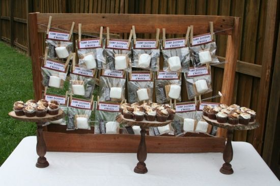 Camp Themed Bridal Shower » The