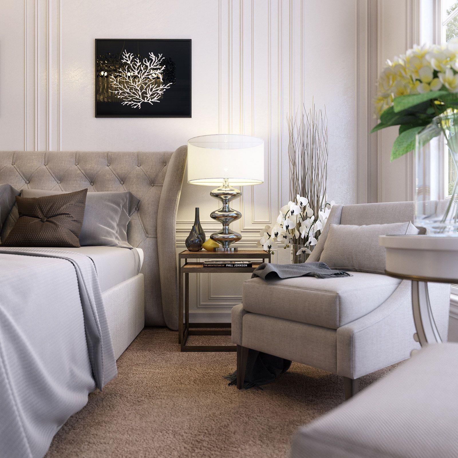 Classic Modern Bedroom By Mallik Deny Modern Classic Bedroom