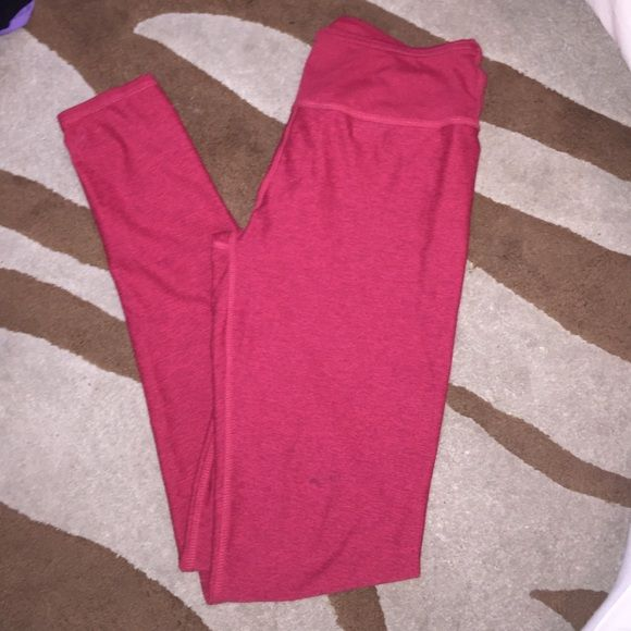 Red workout pants Fabletic red workout pants Fabletics Pants