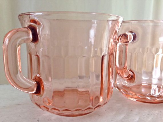 Vintage Fortecrisa Mexico Depression Glass by TheVelvetRooster, $20.00