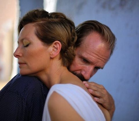 "Tilda Swinton and Ralph Fiennes, the rock legend and the record producer in ""A…"
