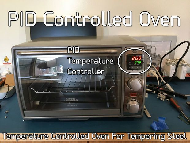 Turn a cheap toaster oven into an accurate, temperature controlled tempering oven