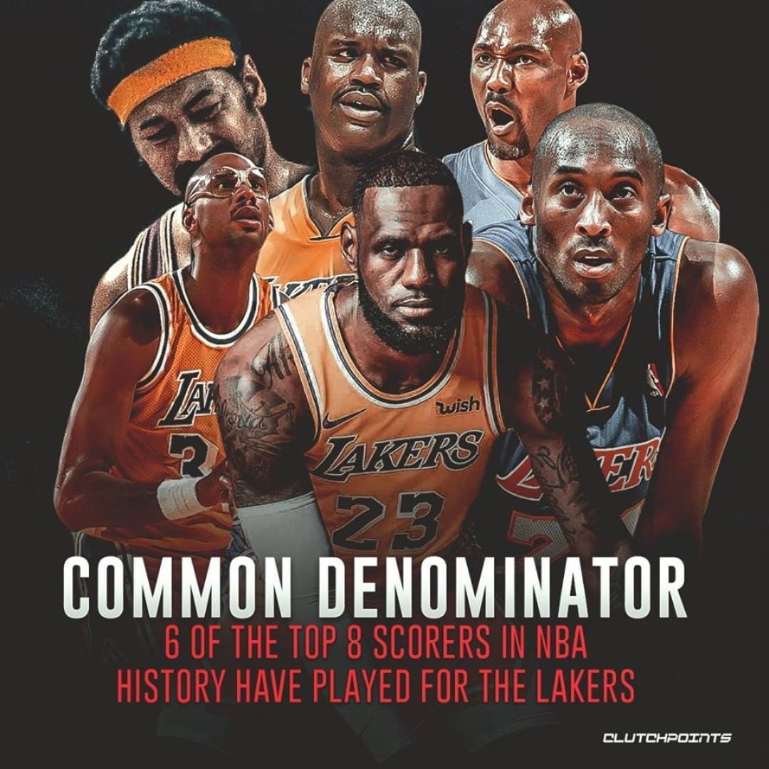 The Lakers Have Had The Best Scorers In The Game Lakers Lebron James Lakers Nba Legends
