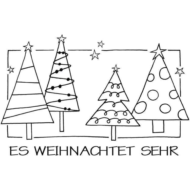 Stempel für Weihnachten #sternebastelnmitkindern Holzstempel  *Es weihnachtet sehr* #weihnachtenneujahr