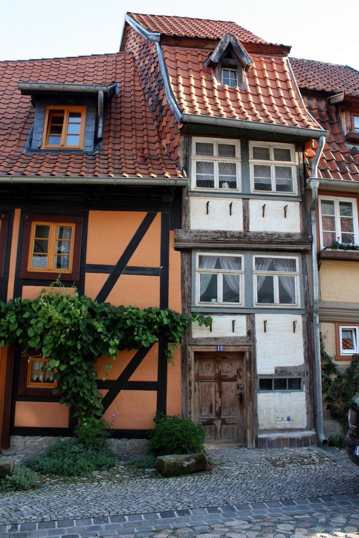 Quedlinburg Style at home, Fachwerkhäuser, Fachwerk