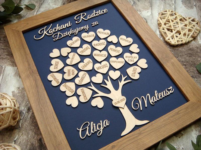 Drzewko Pamiatka Dla Rodzicow Pr12 Wedding Frame Design