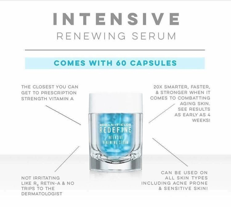 Rodan + Fields' Intensive Renewing Serum will leave your