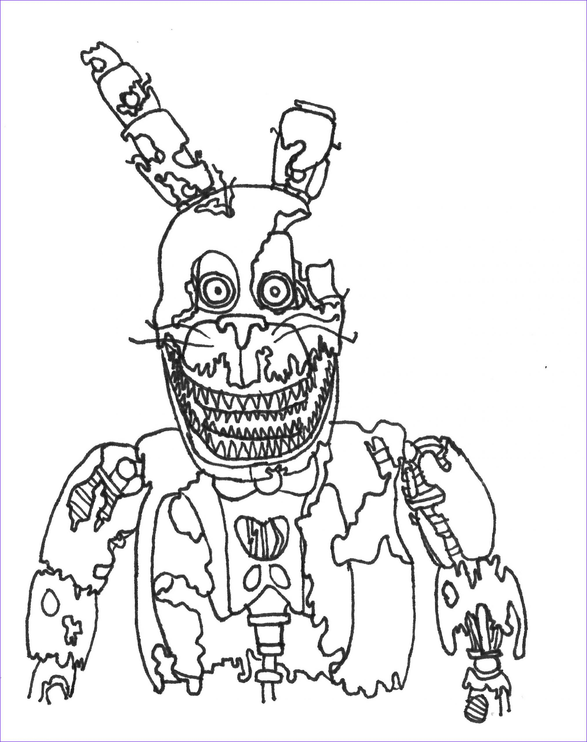 45 Cool Photos Of Five Nights At Freddy S Coloring Book In 2020